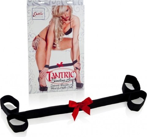 ���������tantric binding love intimate spreader with wrist & ankle cuffs 2702-30bxse, ���� 4
