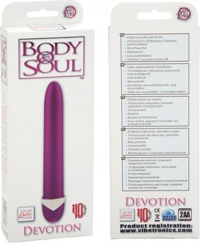 Вибратор body&soul devotion pink 0535-29bxse, фото 4