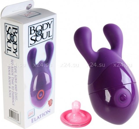 Вибромассажер body&soul elation purple 2106-55bxse, фото 2