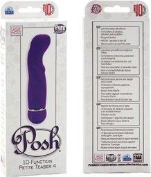 Вибратор posh 10 function petite teaser purple 0725-20bxse 12 см, фото 4