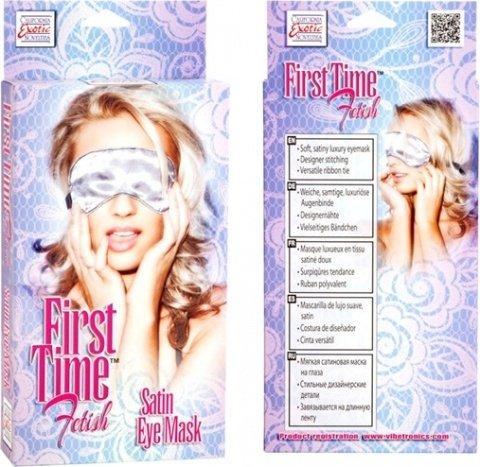 Сатиновая маска на глаза First Time, фото 5