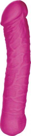 Розовый вибратор Silicone Basics 10-Function G, фото 2