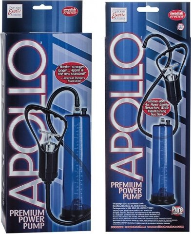 Мужская помпа Apollo Premium Power Pump, фото 4