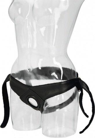 Крепление для страпона Universal Love Rider Platinum Harness для крепления фаллоимитаторов черные 53 см