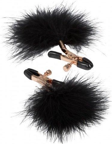 Регулируемые зажимы для сосков с перьями Feather Nipplettes, фото 3