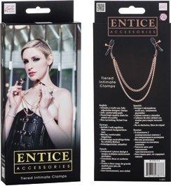 Зажимы для сосков с цепями Entice Accessories, фото 4