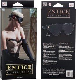 Маска закрытая Entice Eye Mask черная, фото 4