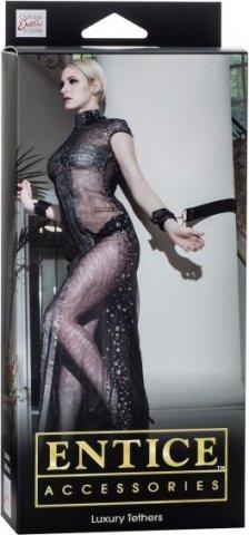 Фиксаторы Entice Luxury Tethers черные, фото 3