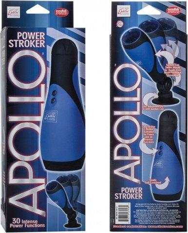 30-ти функциональный мастурбатор Apollo Power Stroker, фото 5