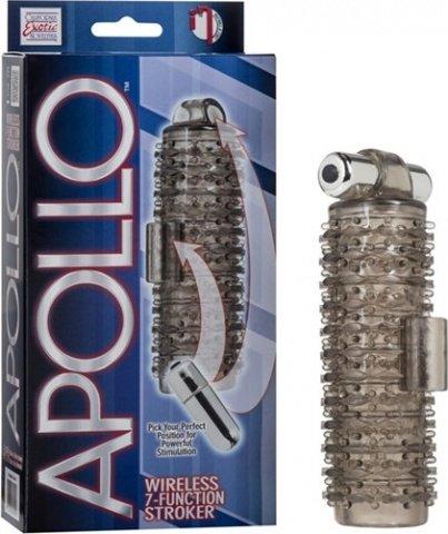 Насадка на пенис apollo wrls 7-function strokers 0967-10bxse 15 см, фото 3