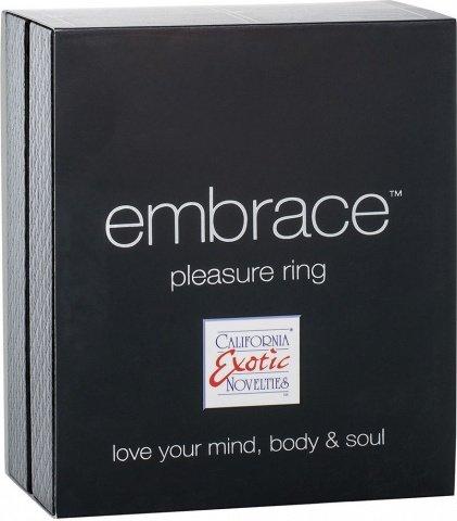 Перезаряжаемое эрекционное кольцо embrace pleasure ring (7 режимов), фото 4