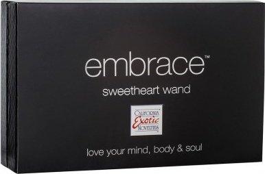 Вибромассажер с клиторальным стимулятором Embrace Sweetheart Wand розовый, фото 4