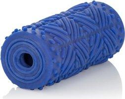 Мастурбатор Apollo Reversible Premium Masturbator Max двусторонний голубой, фото 3