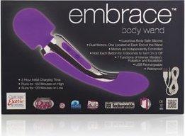 Вибромассажер body wand фиолетовый, фото 5