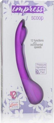 Вибромассажер Impress Scoop фиолетовый, фото 2