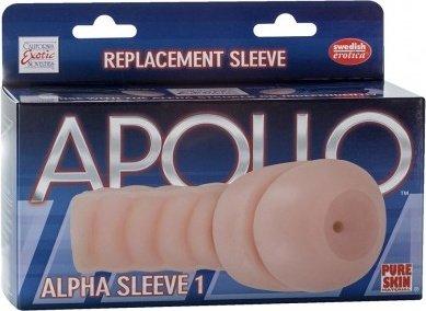 Мастурбатор-анус вставка Replacement Sleeve Alpha Sleeve 1 телесная, фото 2