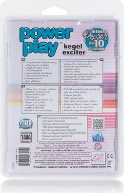 Вибро-яйцо Power play kegel exciter зеленое, фото 3