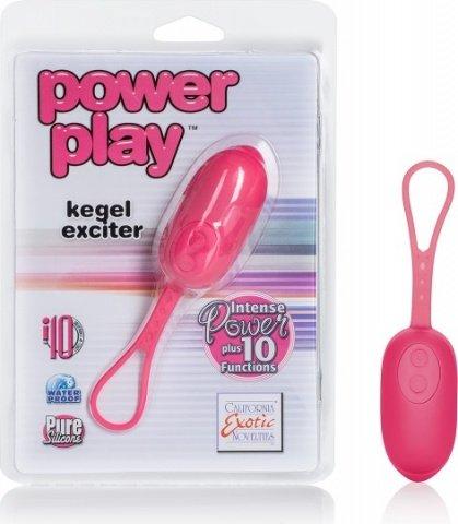 Вибро-яйцо Power play kegel exciter фиолетовое