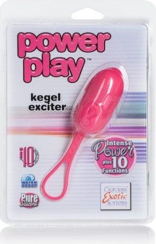 Вибро-яйцо Power play kegel exciter фиолетовое, фото 3