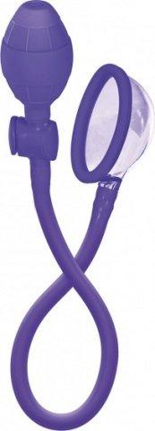 Помпа- мини Mini Silicone Clitoral Pump - Purple из силикона фиолетовая