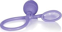 Помпа- мини Mini Silicone Clitoral Pump - Purple из силикона фиолетовая, фото 4