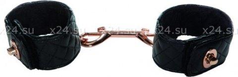 Наручники с золотистой металлической застежкой Entice Universal Cuff Links