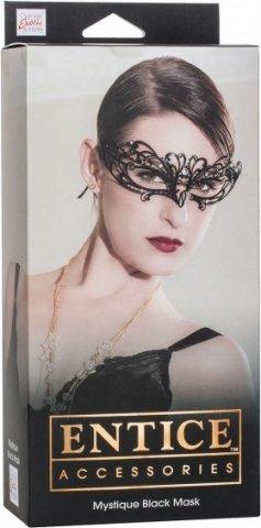 ����� ������ �� ������ � ��������� ���������� Entice Mystique Mask - Black, ���� 2