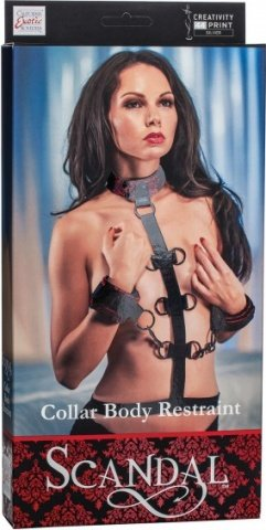 Фиксация длярук и шеи Scandal Collar Body Restraint, фото 4