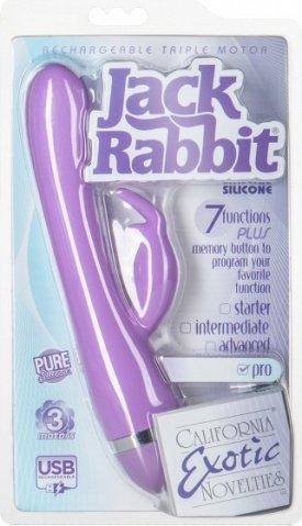 �������������� ������������� ReCNargeable Triple Motor Jack Rabbit - Purple (NEW) ����������, ���� 4