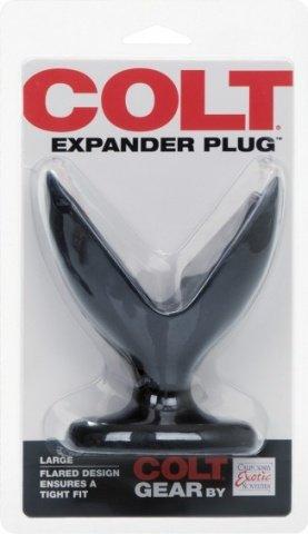 Большая анальная пробка раскрывающаяся внутри Colt Expander Plug, фото 3