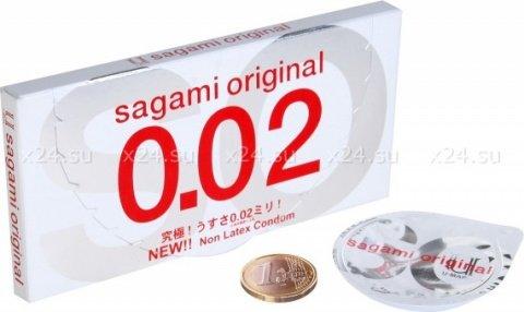 Sagami 2 Original 0.02 полиуретановые, ультратонкие, гладкие презервативы