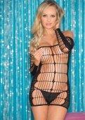 Комбинация черная сетка | Белье - 'сетка' | Интернет секс шоп Мир Оргазма