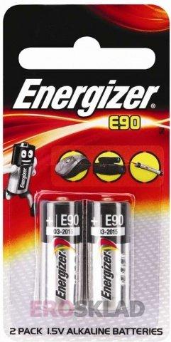 Батарейка типа N (Energizer Alkaline LR1/E90 BL1), фото 2