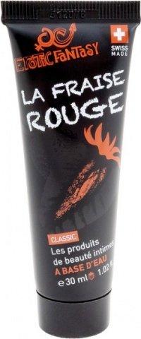 Швейцарский клубничный лубрикант Erotic Fantasy La Fraise Rouge 30 ml