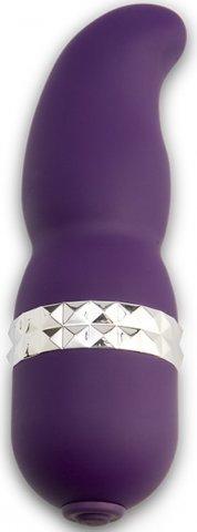 Вибратор rockstar patti фиолетовый 0351-21bxdj 13 см, фото 2