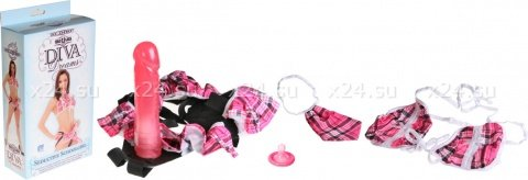 Комплект соблазнительной школьницы Seductive Schoolgirl 19 см, фото 2