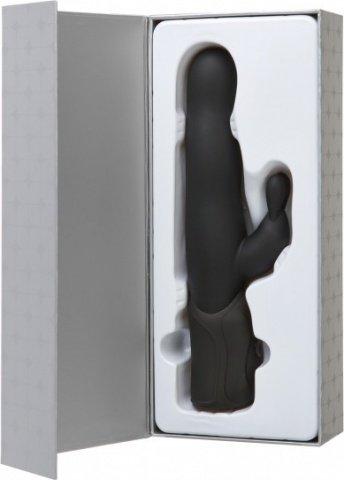 Вибромассажер Хай-Тек iVibe Select iRabbit Black черный, фото 4