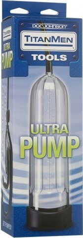 Вакуумная помпа Titanmen Tools - Ultra Pump - Clear прозрачная