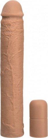 Увеличивающая насадка на пенис мулат 22 см