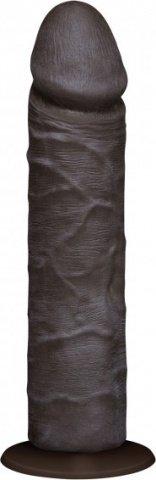 Фаллоимитатор реалистик без мошонки на присоске 8 коричневый съемный Vac-U-Lock