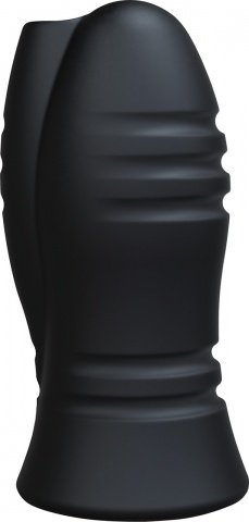 Мастурбатор с вибрацией optimale vibrating stroker - chain links - black