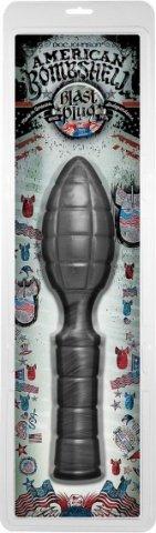 Анальный фаллоимитатро American Bombshell - Blast Plug, фото 4