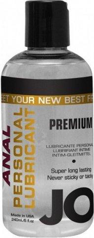 �������� ��������� �� ����������� ������ JO Anal Premium, 8 oz (240 ��)