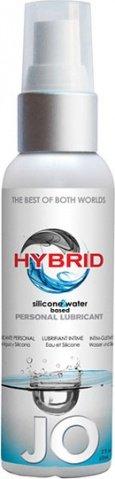 Лубрикант водно-силиконовый Hybrid Lubricant 60 мл, фото 4