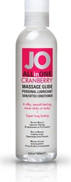 ��������� ����-����� ALL-IN-ONE Massage Oil Cranberry ���������� 120 ��, ���� 3