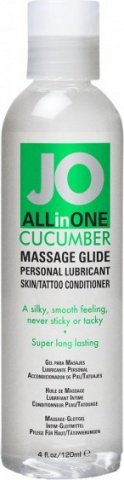 ��������� ����-����� ALL-IN-ONE Massage Oil Cucumber ��������� 120 ��, ���� 2
