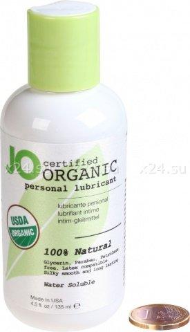 Гипоаллергенный натуральный любрикант organic на водной основе 135 мл