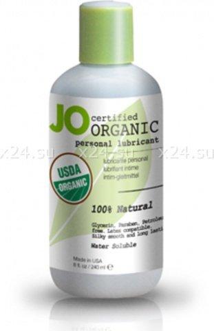 Гипоаллергенный натуральный любрикант organic на водной основе 240 мл