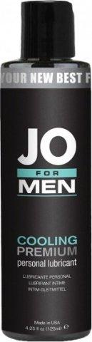 Мужской охлаждающий силиконовый любрикант JO for Men Premium Cooling, фото 2