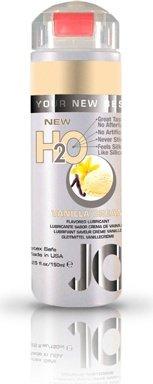 Ароматизированный любрикант на водной основе JO Flavored Vanilla H2O 160 мл, фото 4